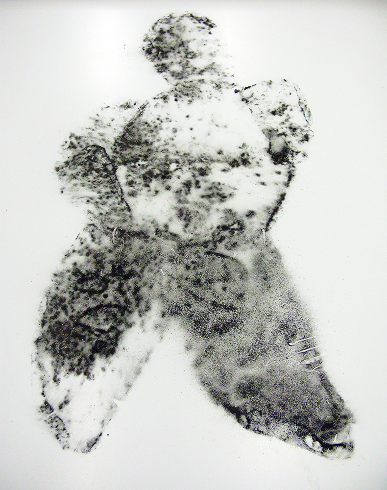 Mould traces of man (The Breadman Project), 2009