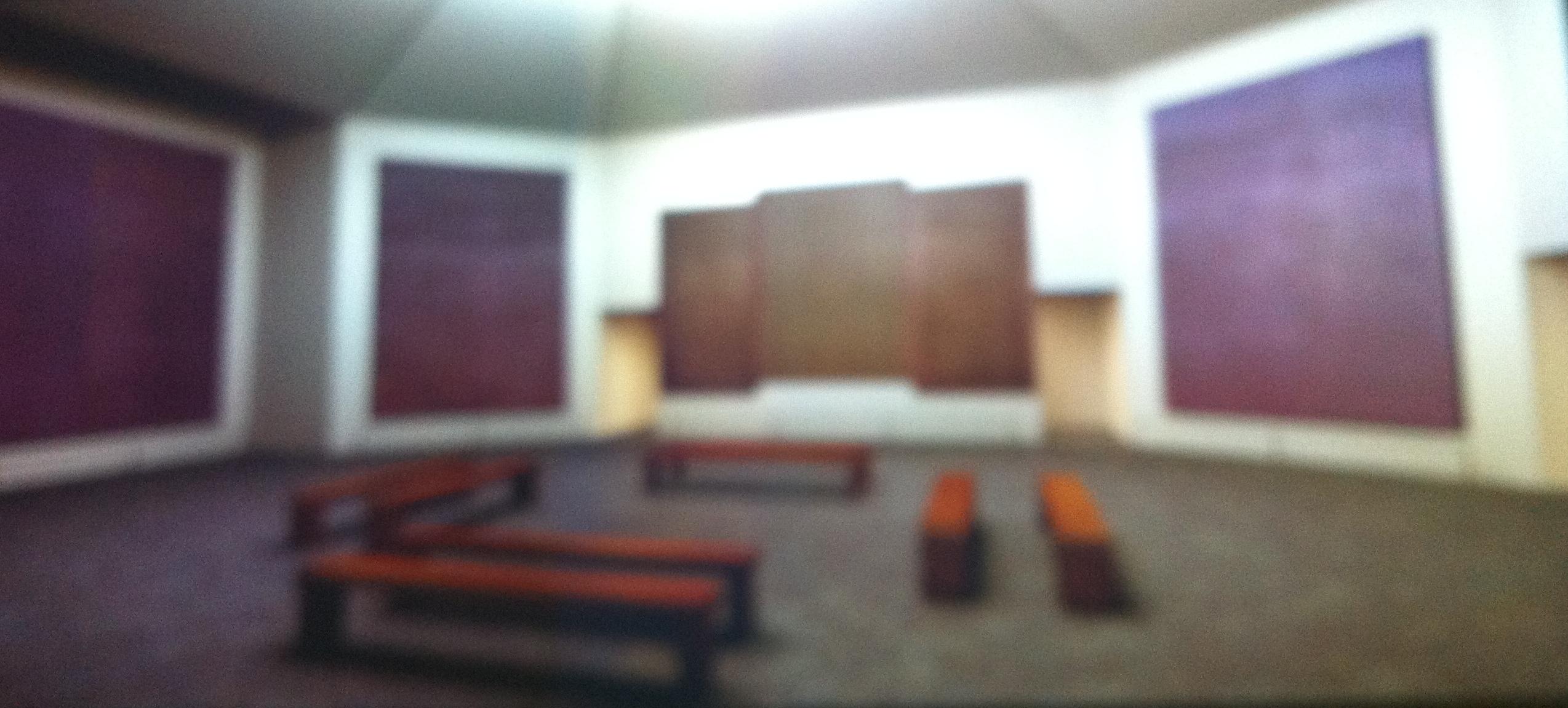 IMG 6004. Read Rothko Room   Emily Kocken  visual artist   writer